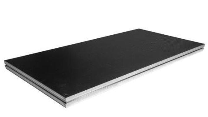 Prolyte StageDex Basic Line Deck - 2 x 1m Black- Used