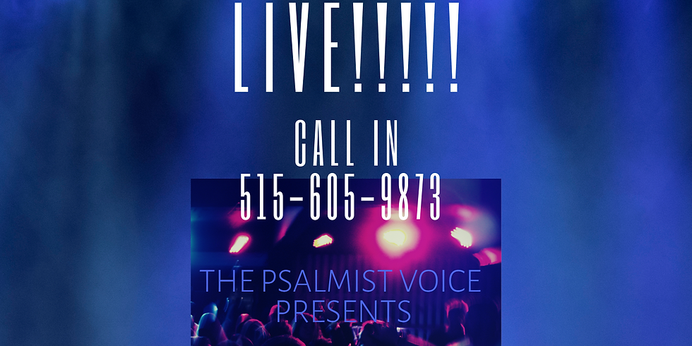 The Psalmist Voice Presents:Apostle Dr. Tonya of Esther Ministries