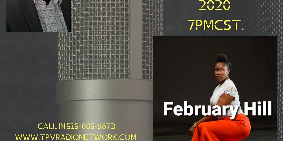 The Psalmist Voice Presents: Gospel Recording Artist February Hill