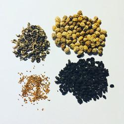Seeds of edible flowers