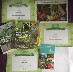Our certificates & Rewards!