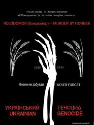 Holodomor Awareness Poster