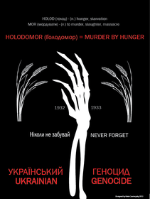 Holodomor Awareness Poster