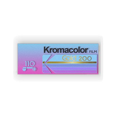 Vintage Kromacolor Film Sticker