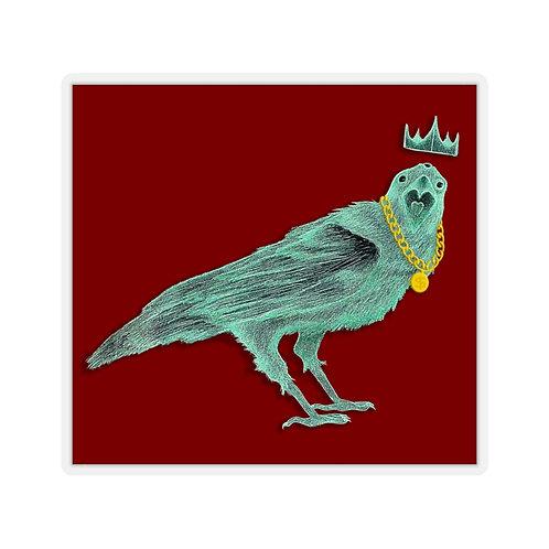 Raven King Sticker