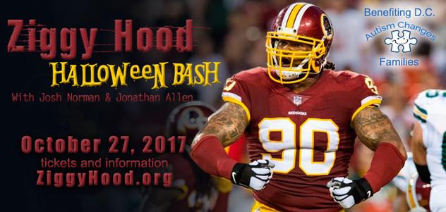 Ziggy Hood Halloween Bash