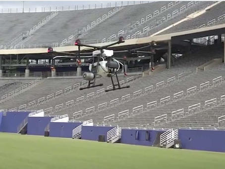 Texas stadiums turn to drones to help fight COVID-19