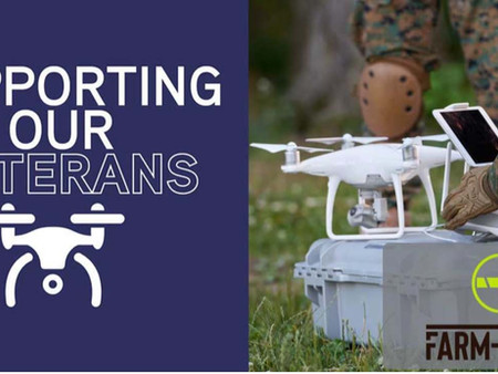 Support US Veterans with PTSD Through Farm-i-tude Drones