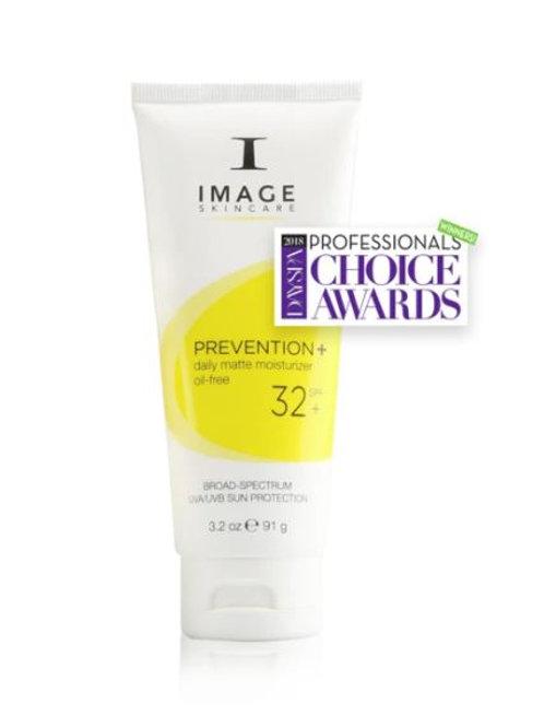 PREVENTION+ daily matte moisturizer SPF 32+