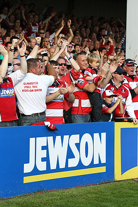 Gloucester Rugby, sponsored by Jewson | KMC Sponsorship & Marketing Consultancy | England