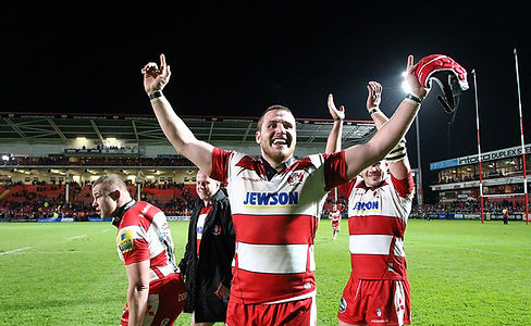 Gloucester Rugby team, sponsored by Jewson | KMC Sponsorship & Marketing Consultancy | England