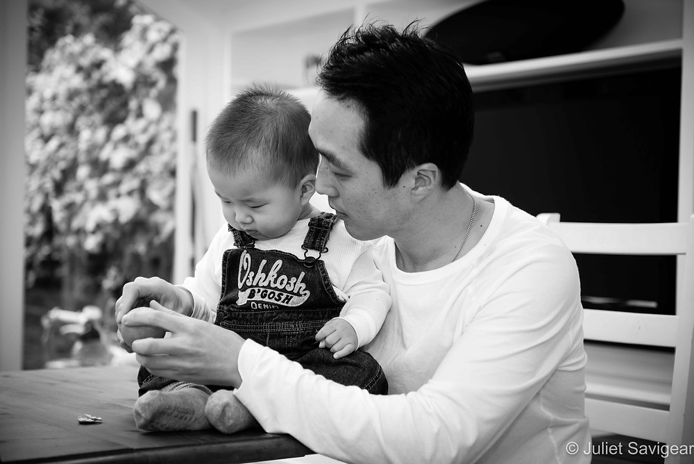 Father & Son - Baby Photography - Parsons Green
