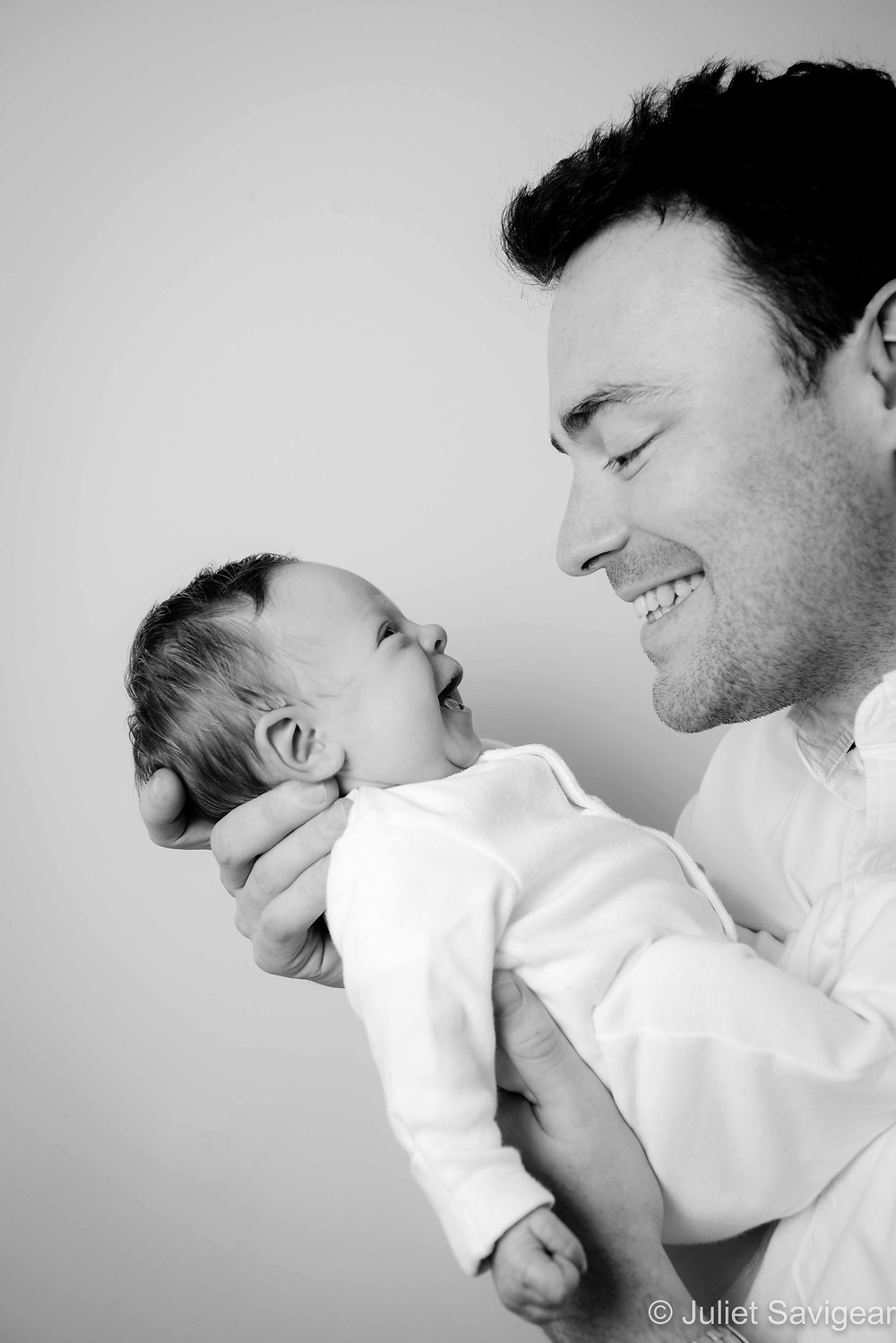 giggles with daddy