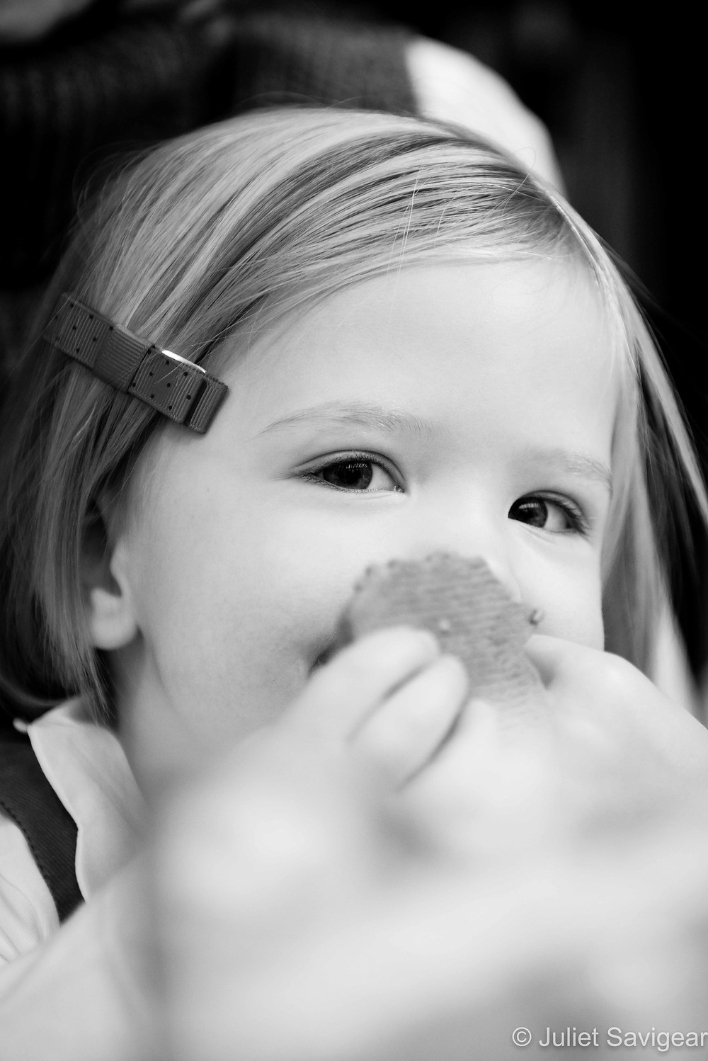 Gingerbread Nose - Children's Photography, Clapham South