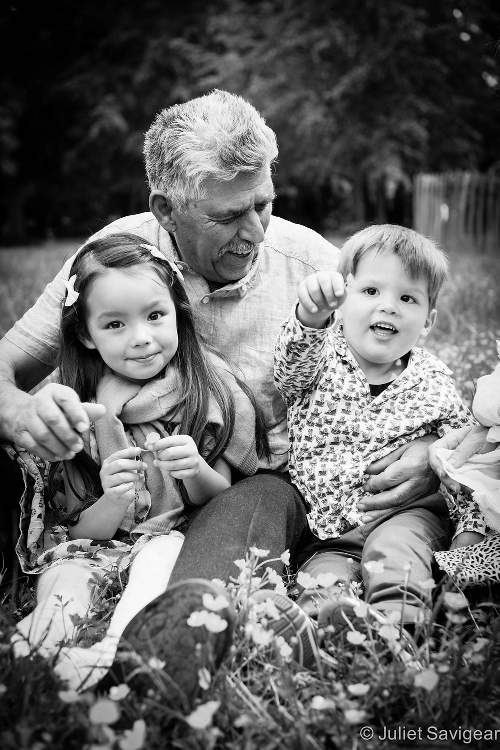 Fun With Grandpa - Family Photography, Wimbledon