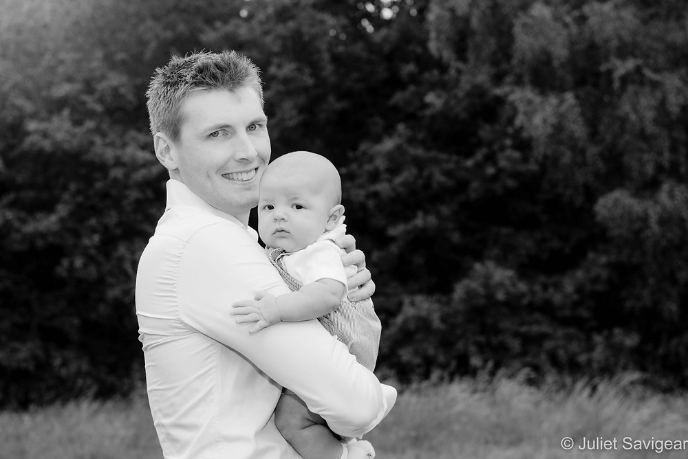 Father & Baby On Wandsworth Common