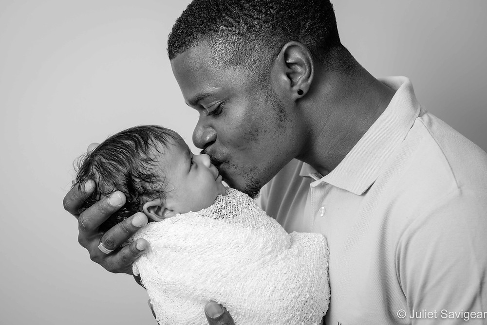 Daddy's kiss
