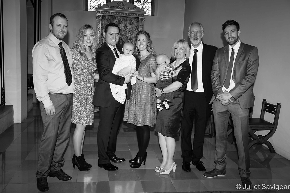 Christening Photography - Family Group - Balham