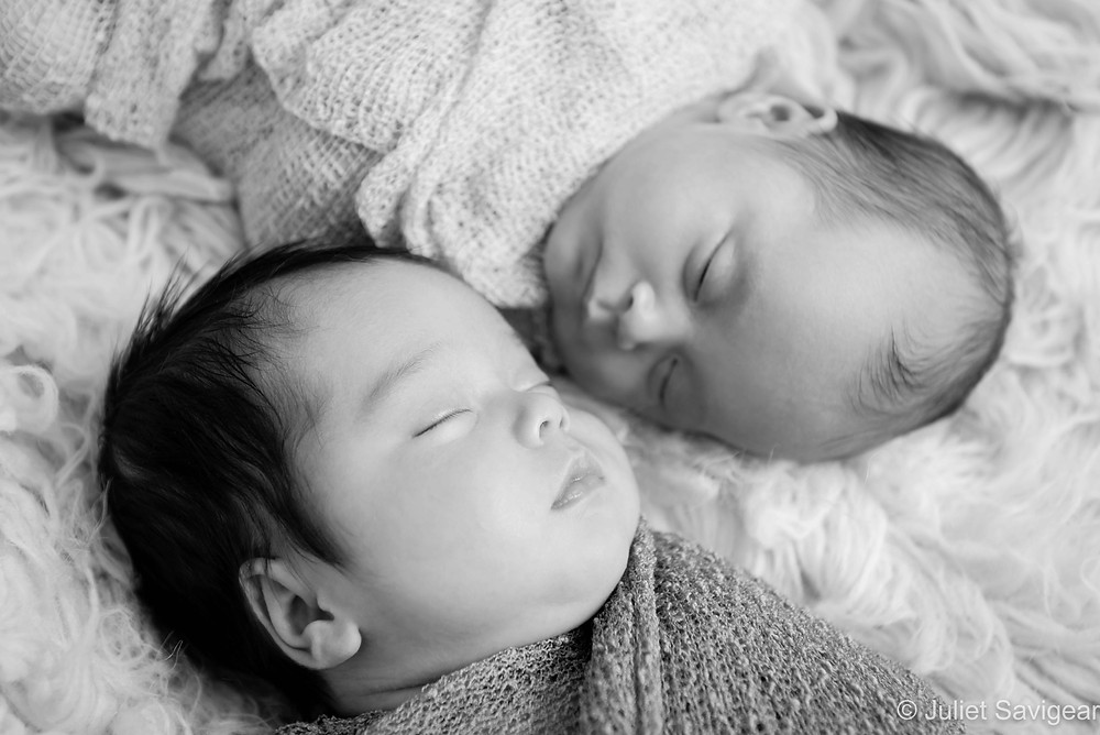 Twins - Newborn Baby Photography - Wandsworth
