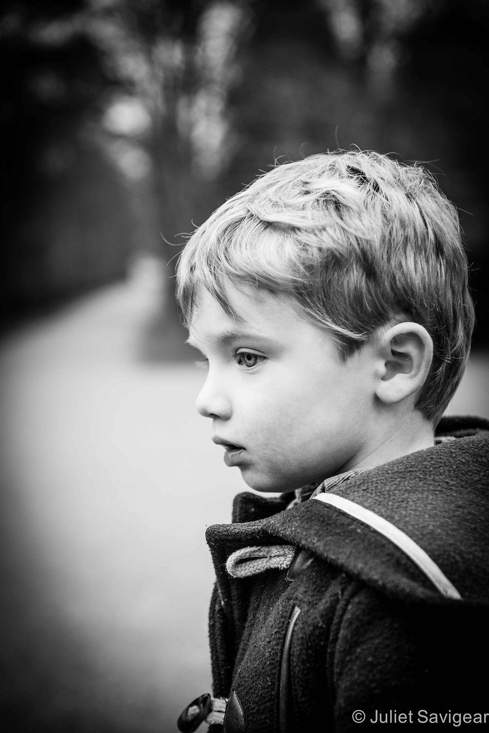 In Thought - Children's Photography, Chiswick