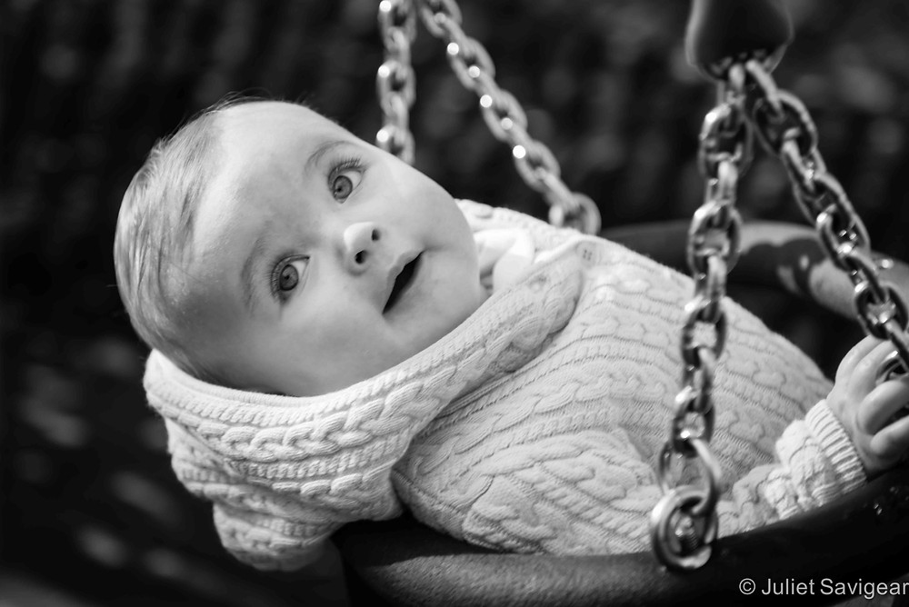 Look At Me Swing - Baby Photography, Tooting Common