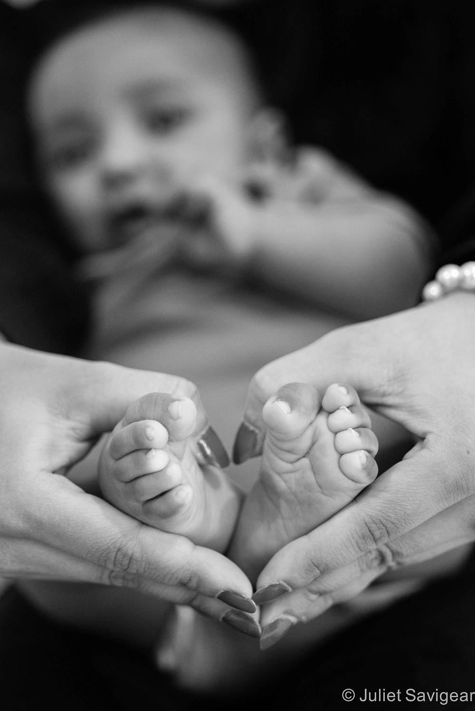 Baby Feet - Baby Photography, Croydon