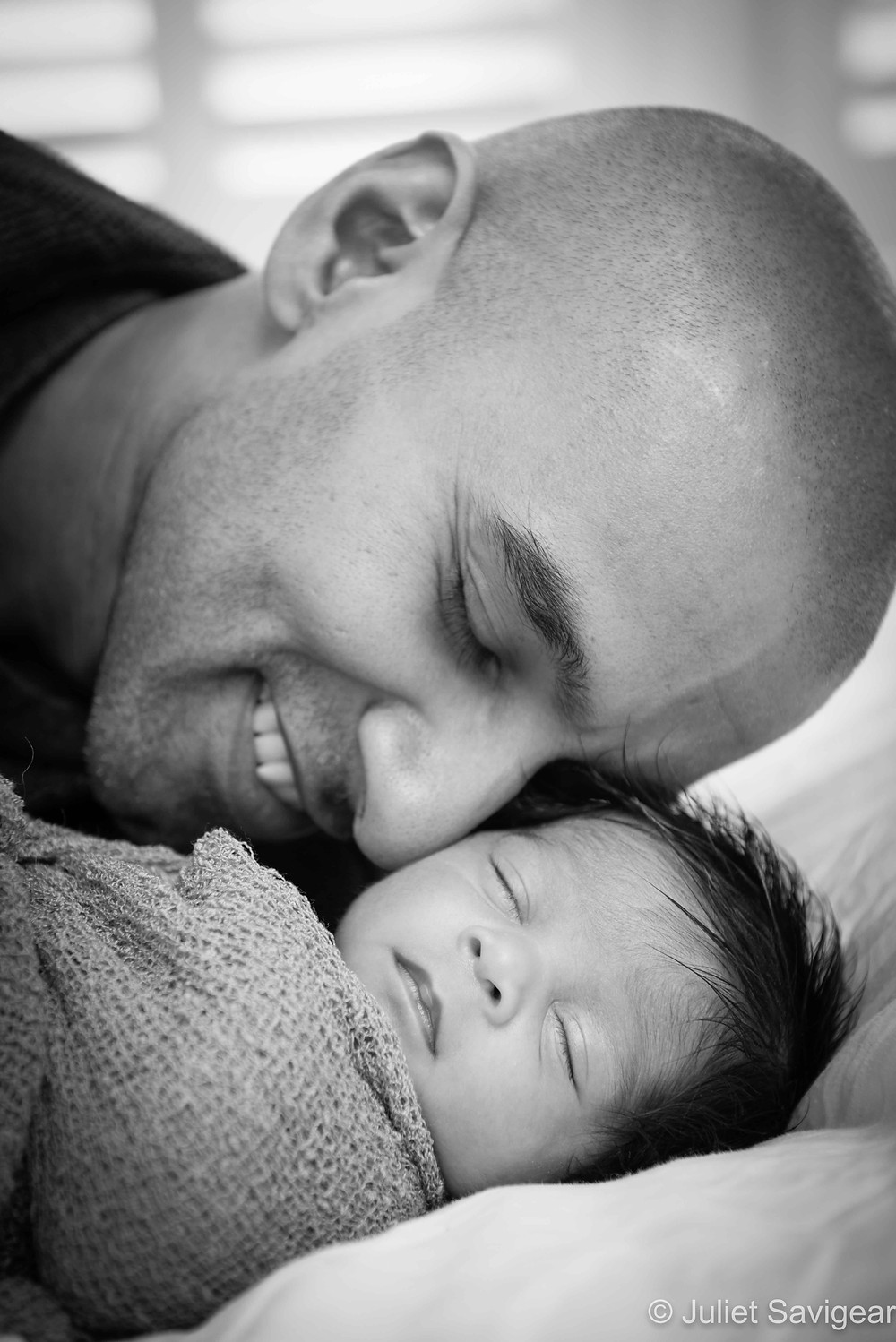 Happiness - Newborn Baby & Family Photograph, Colliers Wood