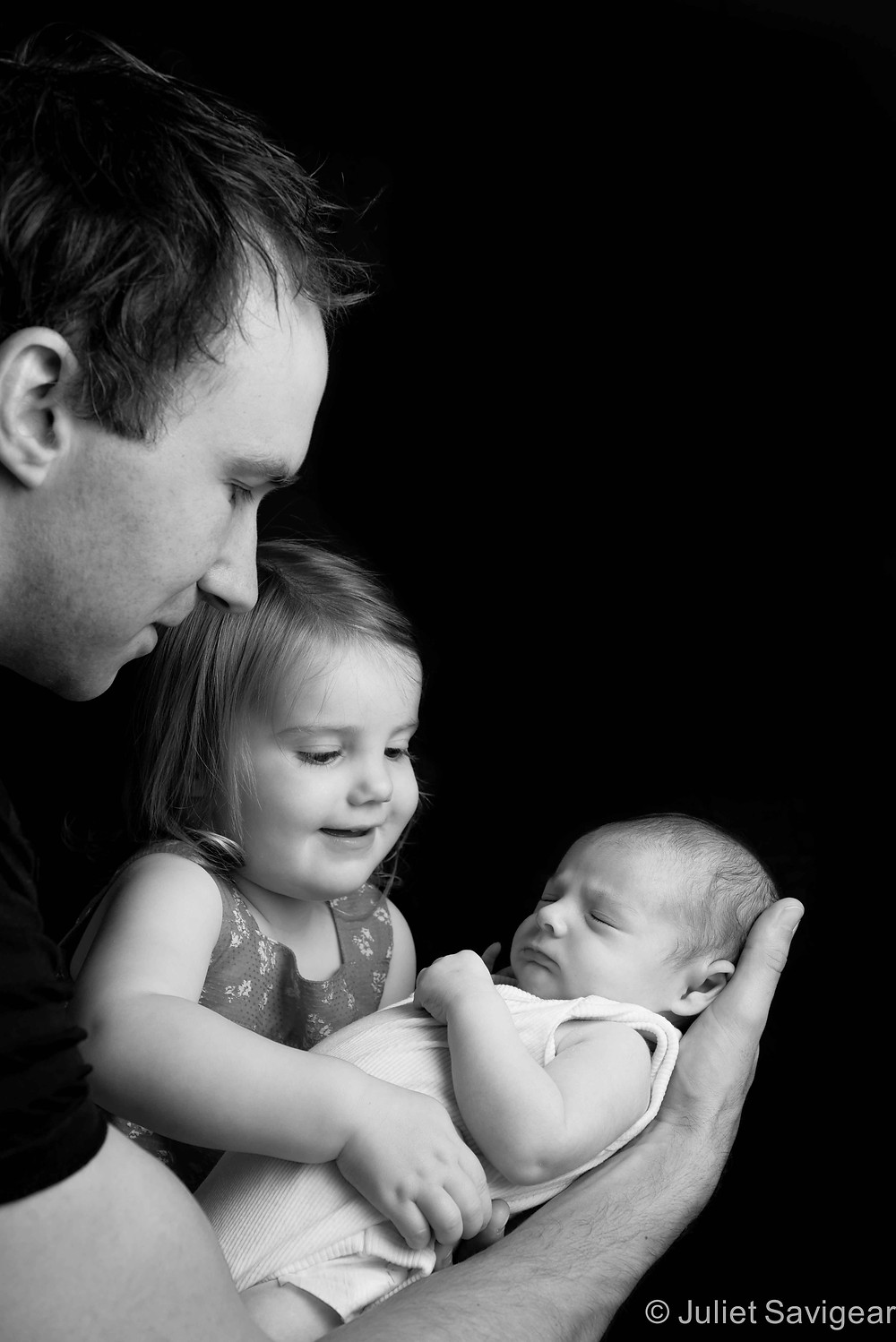 Cuddles For Baby Brother - Newborn Baby & Family Photography, Earlsfield
