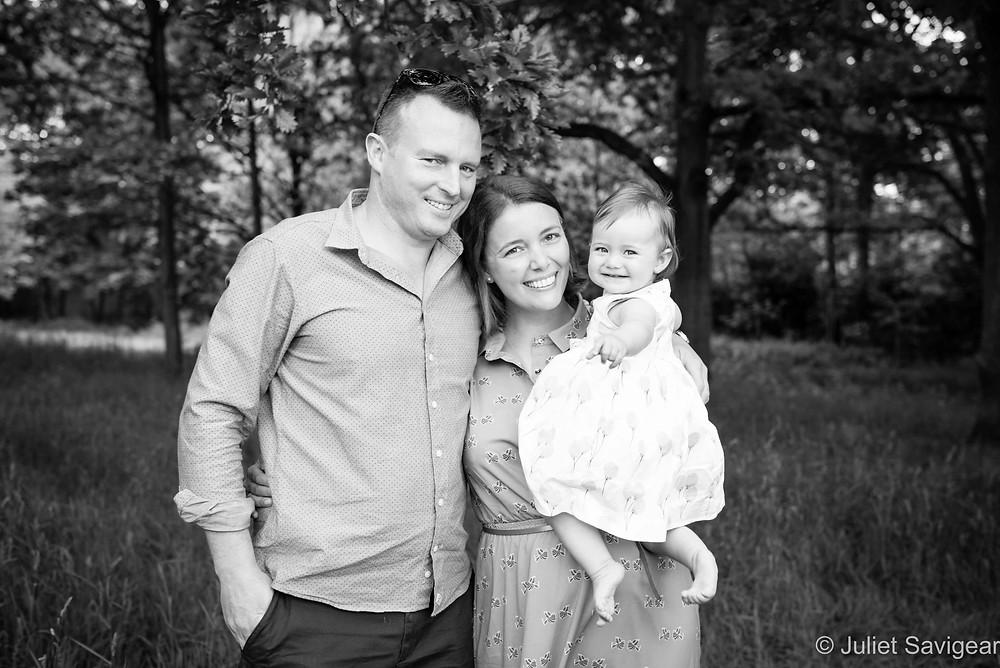 Family Portrait - First Birthday Photography, Balham