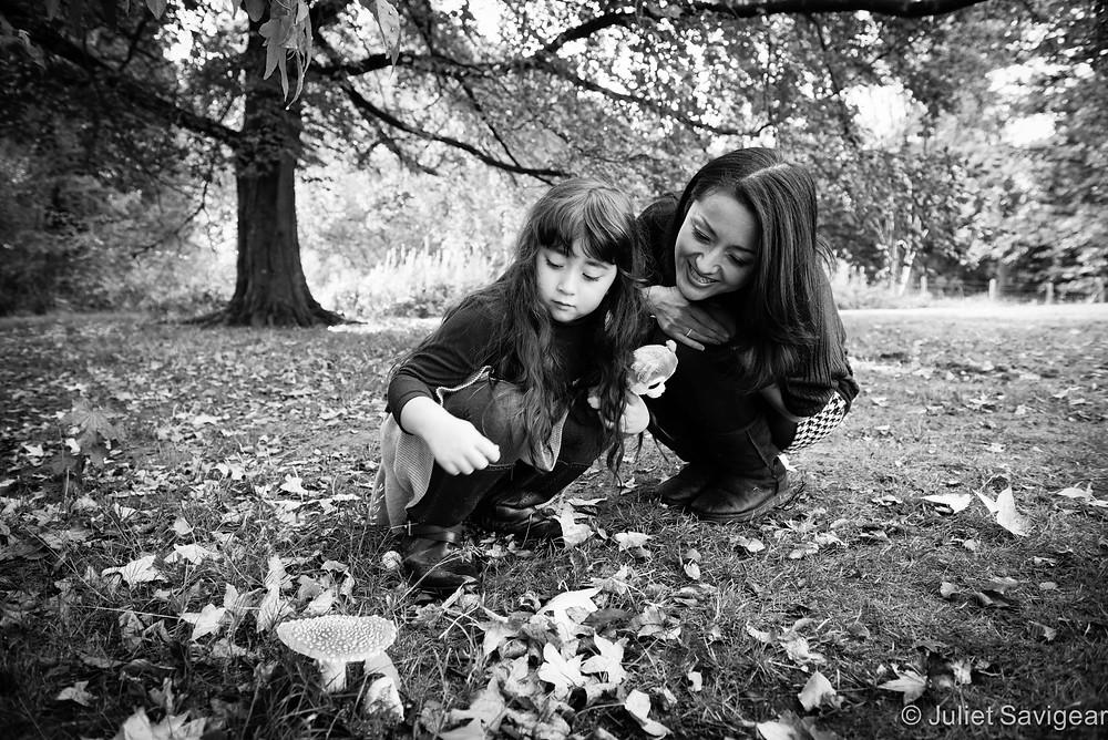 Fairy Tale Mushroom - Children's & Family Photographer, Kenwood House, Hampstead