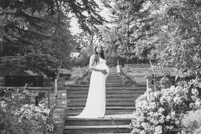 Summer Maternity Photo Shoot - At Home & The Rookery, Streatham Common