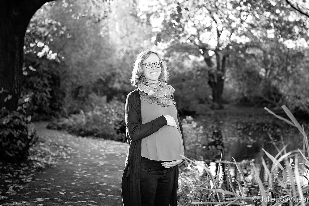 Maternity photography on Wandsworth Common