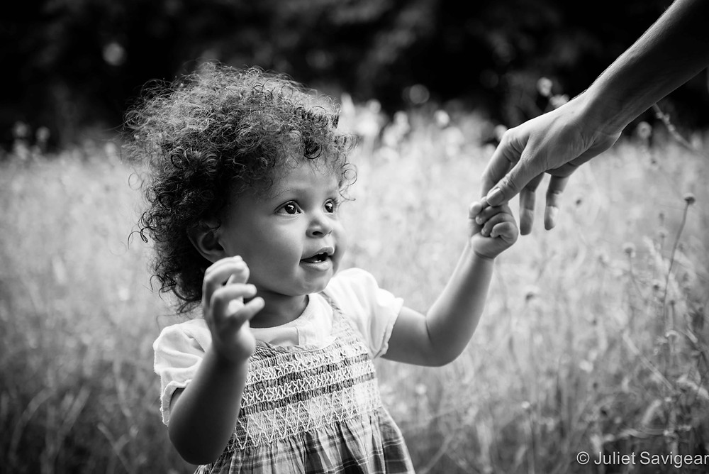 Take My Hand - Toddler Photography, Surrey Quays, London, SE16