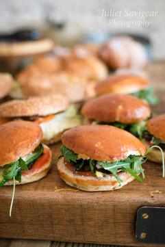 Brioche Sandwiches