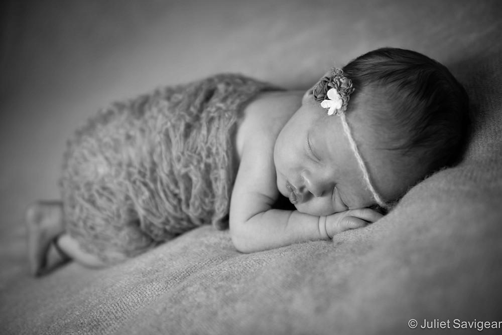Sleeping Baby - Newborn Baby Photography, Balham