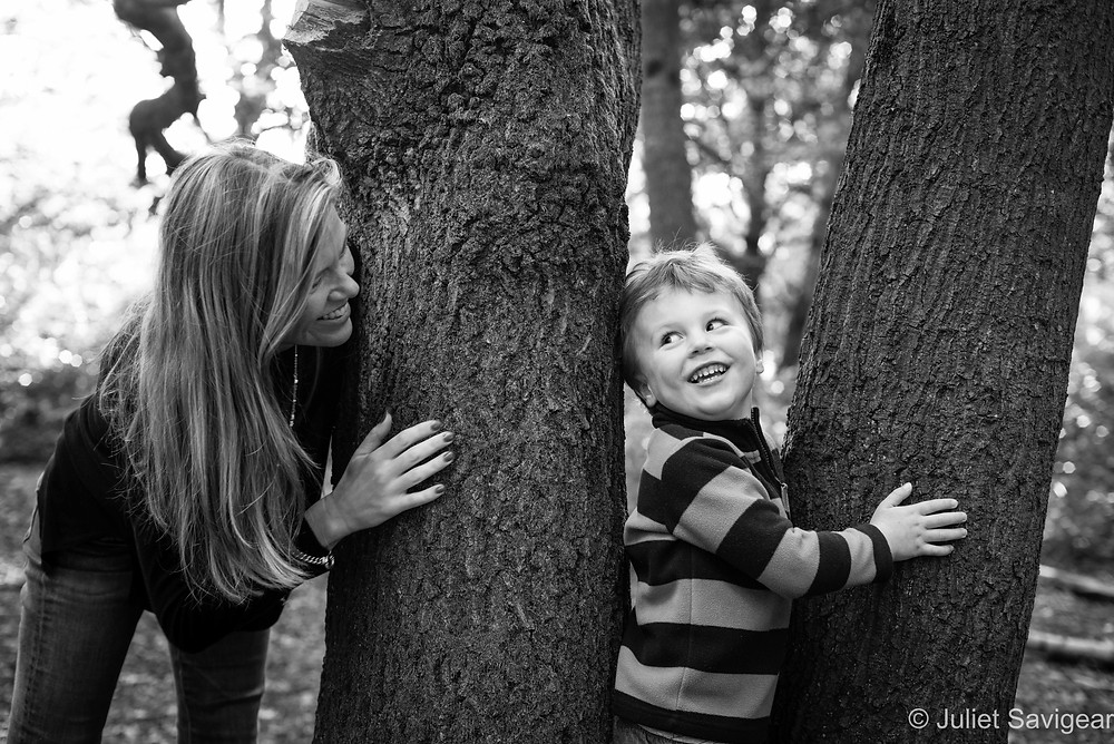 Hide & Seek - Family Photography - Wimbledon Common
