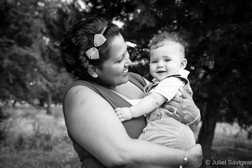 In Mummy's Arms - Baby & Family Photography - Wandsworth Common