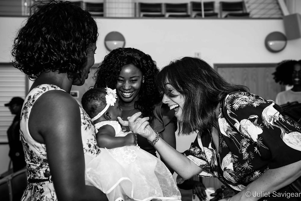 Baby's christening