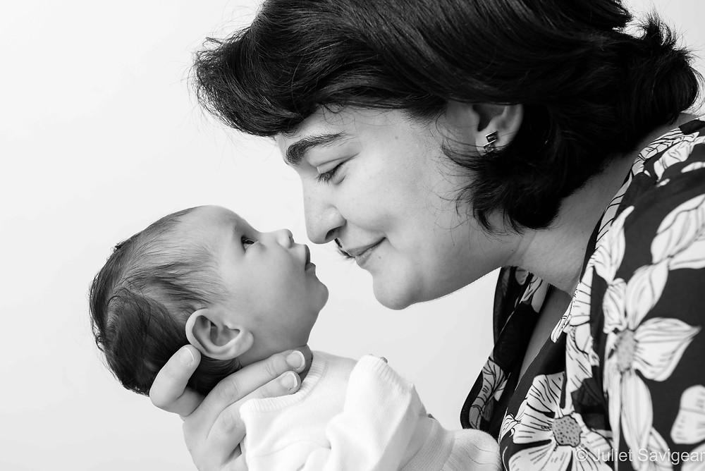 Mother & Baby - Baby Photographer, Kew