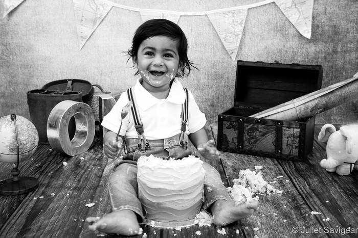 First Birthday & Cake Smash Photography - Wimbledon
