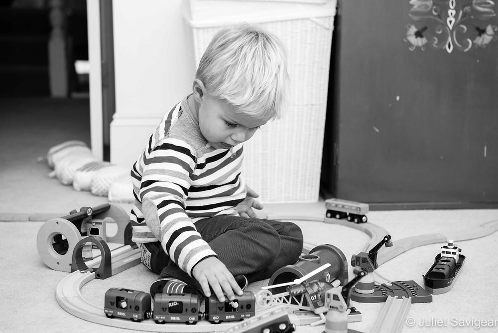 Toy Railway - Children's Photography, Clapham South