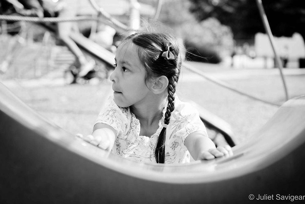 Children's photography in Southwark Park