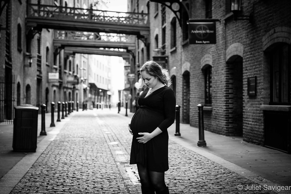 Maternity Photography - Shad Thames, London