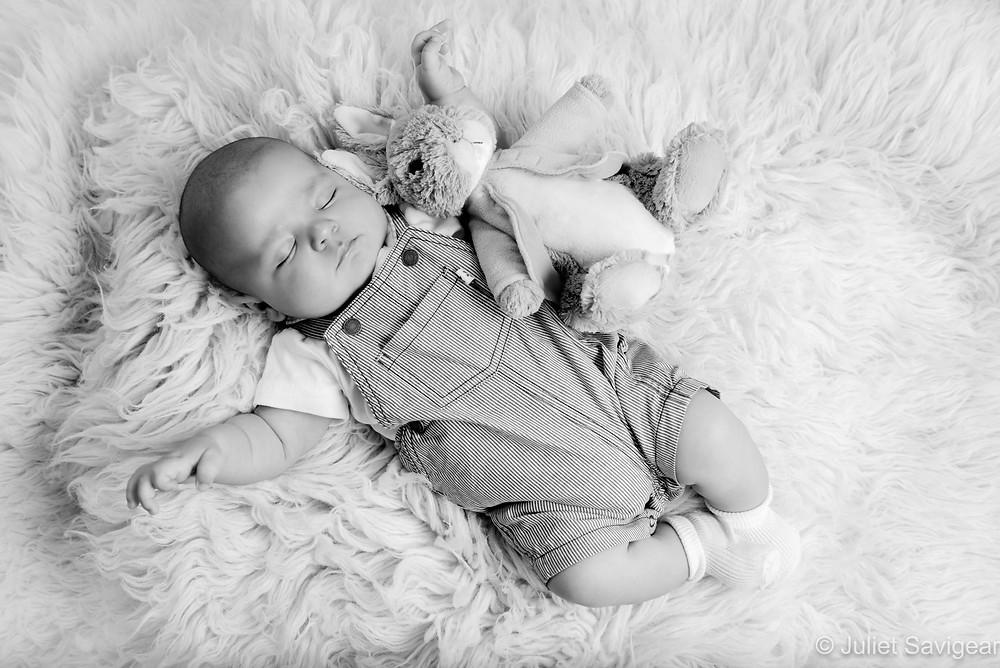 Sleeping Baby With Peter Rabbit
