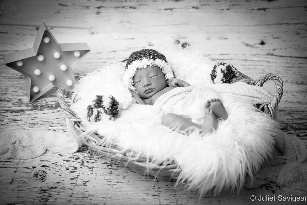 Christmas Star - Newborn Baby Photography, Victoria, London