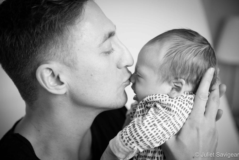 Kiss - Newborn Baby Photography, Balham