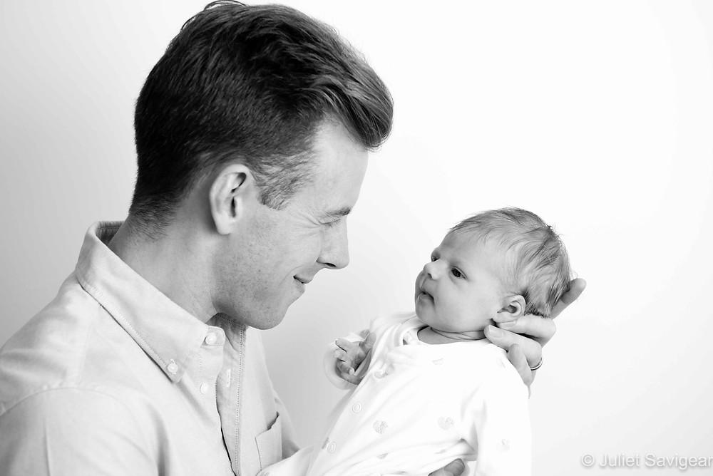 Daddy's Girl - Newborn Baby Photography - Balham