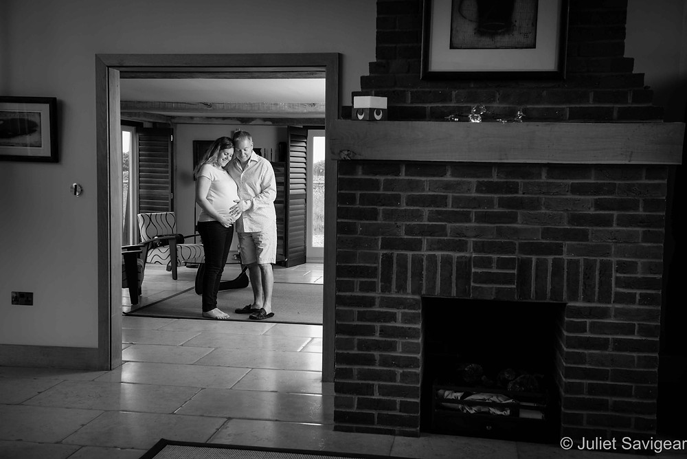 Happiness - Pregnancy Photography, Essex