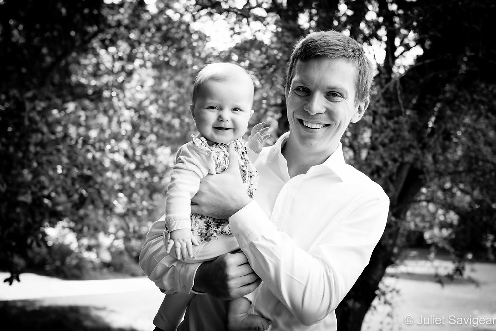 Father & Daughter - Family Photography - Kenwood House