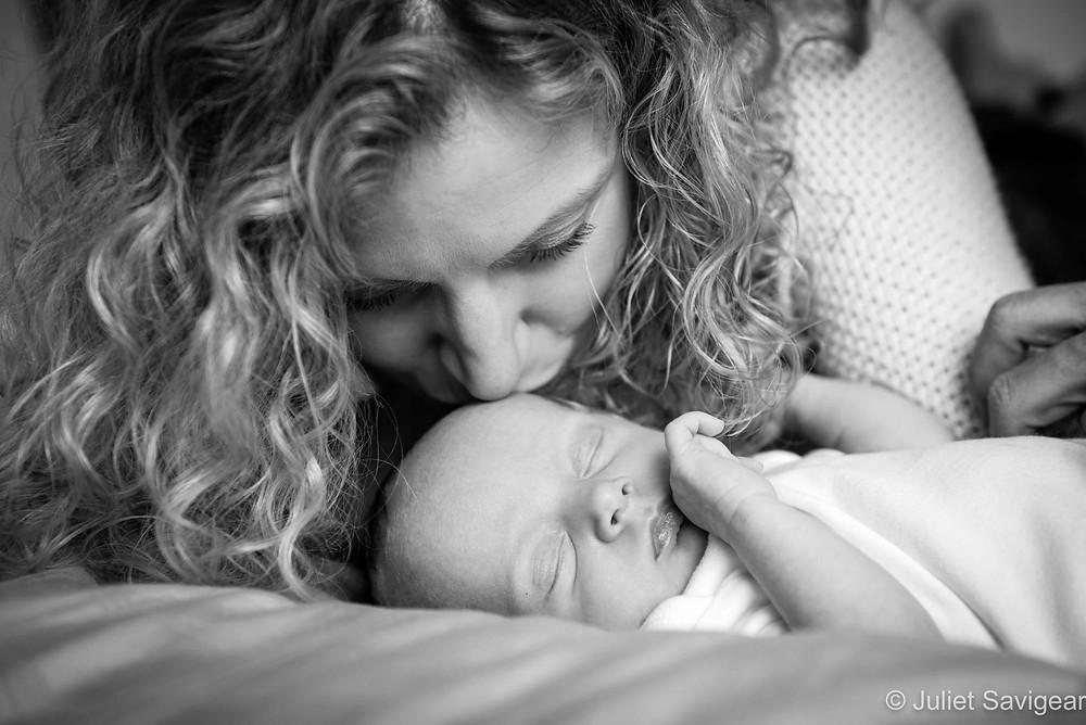 Mamma's Kisses - Newborn Baby Photography, Clapham